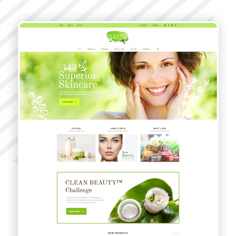 Naturkosmetik Website