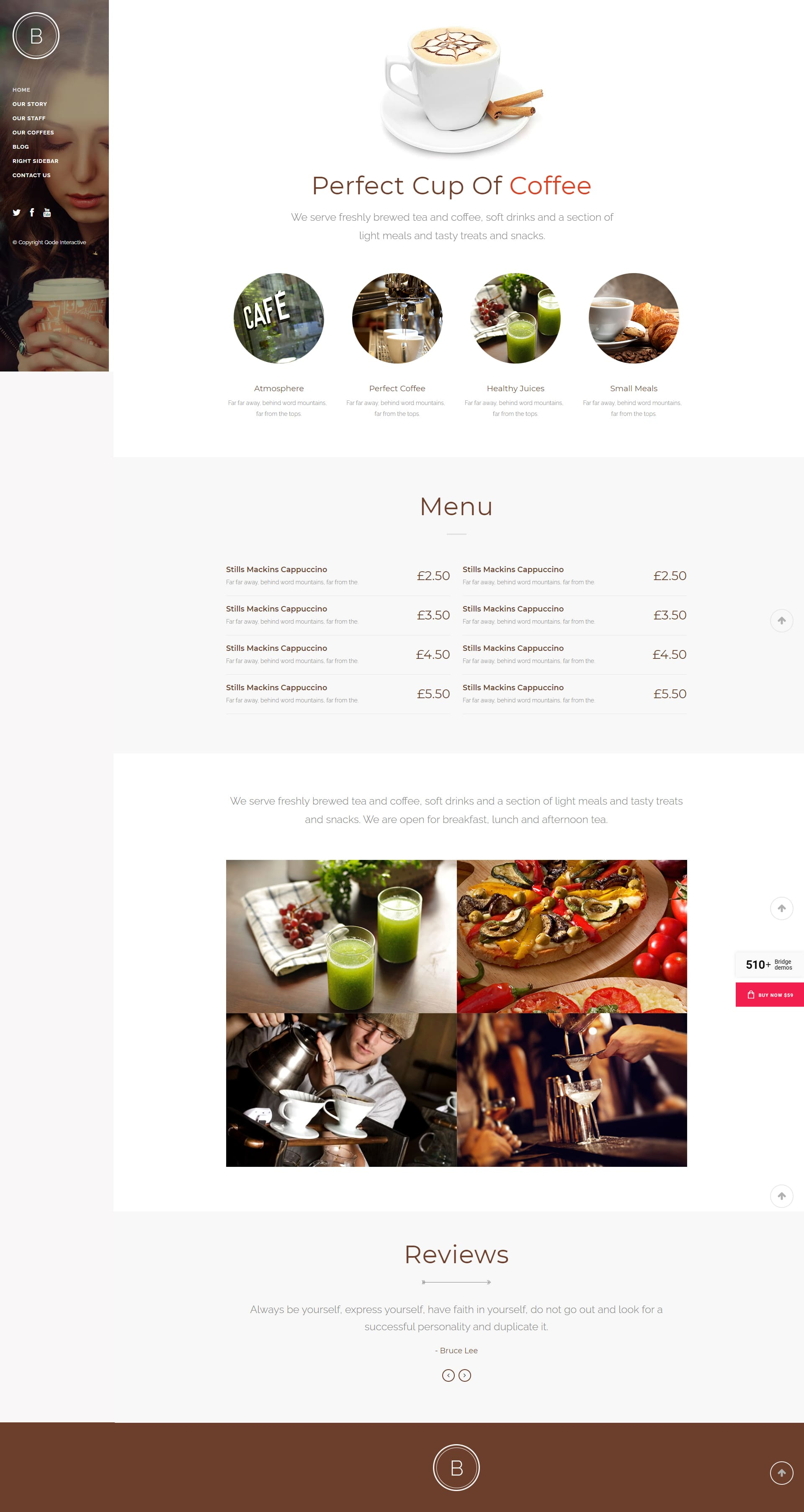 Kaffee Website